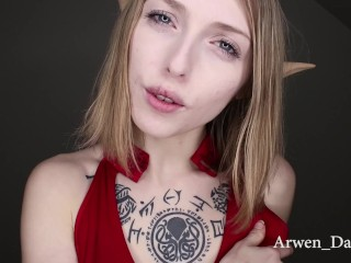 Elf Tells You How To Stroke Your Cock For Her
